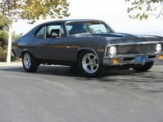 71 Chevy Nova - Gun metal gray