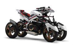 Yamaha Tesseract concept quad-bike