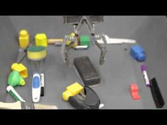 Learning hand-eye coordination for robotic grasping - YouTube