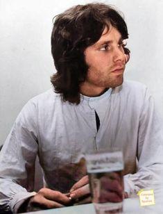 Jim Morrison Color by Spumini art