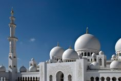 The Grand Mosque in Abu Dhabi.