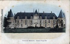 Chateau d'Augerville-la- Riviere | Loiret, France. French country estate of Mrs Alva Vanderbilt Belmont.