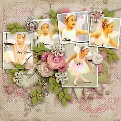 Alex Takes A Bow  Cottage Romance Kit by Etc by Danyale  http://the-lilypad.com/cottage-romance-kit.html  Enchanted Beauty {Dressed Up}  http://the-lilypad.com/store/Enchanted-Beauty-Dressed-Up-Digital-Scrapbook-Template.html