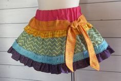 "Rainbow skirt- I love this! Too bad I just spent 50$ on cute ""party skirts"" for hunt!"