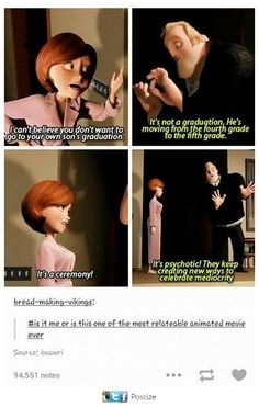 There's a reason I call The Incredibles my favorite Pixar movie. Disney Pixar, Disney Jokes, Disney And Dreamworks, Disney Magic, Funny Disney, Disney Princes, Disney Facts, Disney Animation, Walt Disney