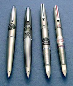Probably one of my favorite all steel pen designs - Pilot steel fountain pens. I haven't had opportunity to try one. Yet.
