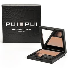 Pui Pui Natural Touch Blusher; Fresh Pink - ref. 25650