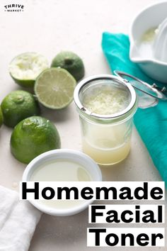 Natural toners can be a little pricey, but they are quick and inexpensive to make at home. All you need is apple cider vinegar, water and essential oil. Homemade Face Toner, Toner For Face, Homemade Facials, Facial Toner, Natural Toner, Natural Exfoliant, Natural Beauty, Diy Beauty Essentials, Cleanser For Oily Skin