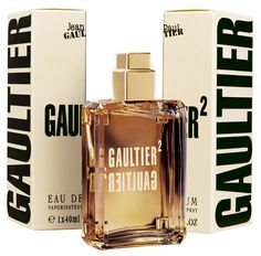 Jean Paul Gaultier fragrance Gaultier², the scent of two skins in love, for him and for her. A warm, sensual fragrance that blends the masculine and the feminine in a trio of musk, amber and vanilla.