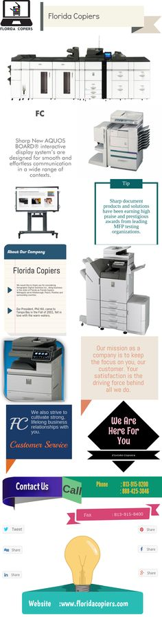 Sharp document products and solutions have been earning high praise and prestigious awards from leading MFP testing organizations. https://www.floridacopiers.com/