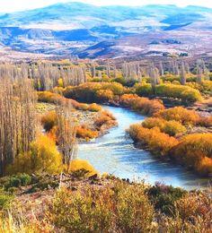 Río Aluminé - Aluminé - Neuquen. Argentina  Argentina Turismo  सूचना के लिए हमारी साइट पर पहुंचें  http://storelatina.com/argentina/travelling  #travelargentina #viajeargentina #viajando #ArgentinaTurismo