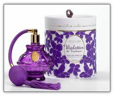Violettes de Toulouse una fraganciapara una mujer romántica .