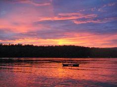 Long Pond, Belgrade Lakes, Maine