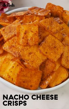 These 2 ingredient Nacho Cheese Crisps taste EXACTLY like Cheez Its. Ketogenic Recipes, Diet Recipes, Snack Recipes, Cooking Recipes, Healthy Recipes, Protein Recipes, Easy Recipes, Cheese Recipes, Ketogenic Diet