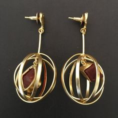 CAGED EARRING
