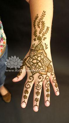 triquetra henna tattoo