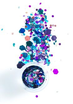 The Gypsy Shrine Chunky Multi Mix Face Glitter cuz lyfe is better with a little sparkle, bb. This face glitter mix features sik multi-color super chunky glitter that's perf fer yer hair, face, n bod. Packaged in a 6 gram bag, these bbz are cosmetic and environmentally friendly and super ez to apply. #makeup #glitter