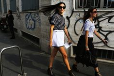 Street Style: Milan Fashion Week Spring 2015 – Vogue Gilda Ambrosio