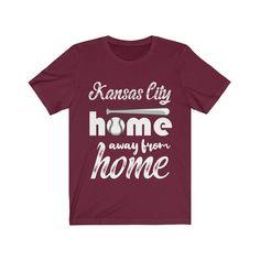 Kansas City Baseball T-shirt Missouri Sports Fans Shirt Cincinnati Baseball, Atlanta Baseball, St Louis Baseball, Pittsburgh, Lifestyle Shirts, Baseball Shirts, Baseball Games, Fan Shirts, Good Luck To You