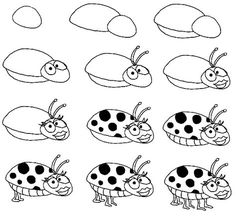 how to draw a ufo