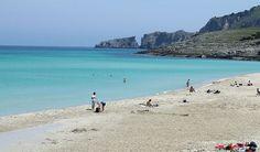 Mallorca Spain Beaches   Beautiful blue sea and beauty at Cala Mesquida