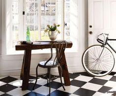 Brabourne Farm: Love .... Checkered Floors