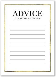 Lavish Accent - Signature White Enclosure Cards - Magnolia Press - White : Front