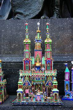 Merry Little Christmas, Xmas, Polish Christmas, Polish Folk Art, Architecture Models, Heart Of Europe, Tiny World, Beautiful Hands, Art Forms