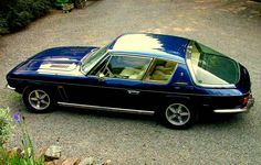 The Jensen Interceptor. These were made from the later 1960's to about 1976, IIRC. These were muscle cars with class. From the UK, they were either a Chrysler 383 cu in V8 or 440 cu in V8; with 3-2 bbl carbs. These cars, depending on modifications ranged from very fast to crazy fast! IIRC, one set a land speed record of over 230 mph. Another I remember is one of the 4WD cars setting a new speed record for 0 to 100 and back to 0. A feat accomplished in a driving rain storm!