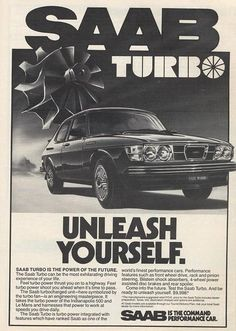 Saab TURBO   waaay back in 1978!