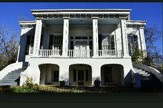Rosewood Plantation, Lowndes county Alabama......built in 1855.
