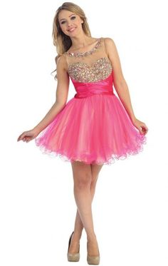 Amazing Short Pink Tailor Made Cocktail Prom Dress (LFNAG0119) cheap…