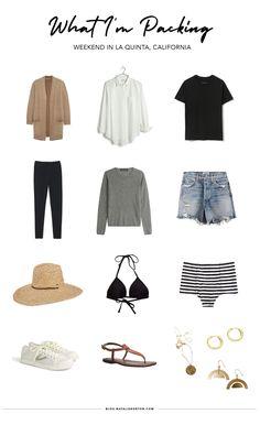 Summer Weekend Outfit, Summer Outfits, Weekend Trip Outfits, Holiday Outfits, Fall Outfits, Outfits Otoño, Fashion Outfits, Capsule Outfits, Capsule Wardrobe Work