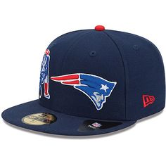 Men s New Era New England Patriots Double Wham 59FIFTY® Structured Fitted  Hat - NFLShop. 5c9fcbd80a1d