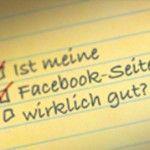 Checkliste - Facebook-Seite