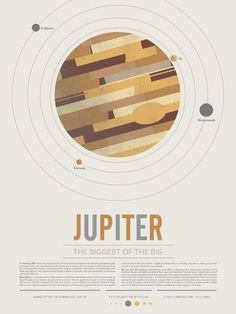 Beyond Earth: Dreamy, Minimalist Posters of the Planets