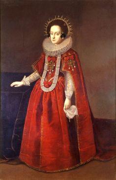 Queen Constance of Poland by unknown, 1610's Poland, Zamek Królewski w Warszawie