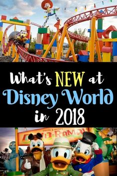 Wondering what' going to be new at Walt Disney World in 2018 ? If you haven't been to Walt Disney World in a while, 2018 is going to be a great year to visit the parks. Check out the new rides & attractions! #wdw #disney #disneytips via @disneyinsider