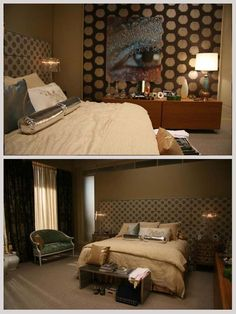 Serena Van der Woodsen's first bedroom