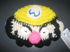 Wario crochet hat for little cancer patient.