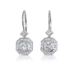 http://rubies.work/0391-sapphire-ring/ Vintage Diamond Earrings