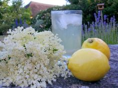 another recipe for Elderflower Cordial - I just really like the photo :)