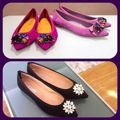 goodluckyshoes's photo on Instagram #Flat #Fashion #ItalianShoes #PlayofColors
