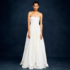 25% off wedding gowns, bridesmaid dresses, and bridal accessories at J. Crew. | 30 Insane Sales To Shop This Weekend