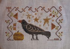 Blackbird Designs At Willow Tree Pond: Stitchy Update