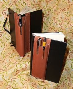 Leather Pen mounts on book cover - Rachel, In Full Color: Quiver Of Love...