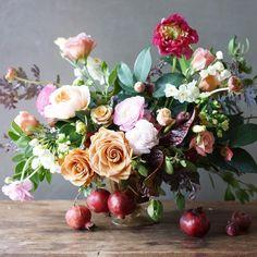 Flowers + Pomegranates | Botanical Brouhaha