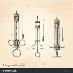 Illustration about Vintage medicine syringe hand drawing,Antique medicine syringe clip art isolated on grunge background. Illustration of etching, retro, steampunk - 118607552 Diabetes Tattoo, Occult Tattoo, Old Hospital, Engraving Illustration, Graphic Illustration, Medical Art, Medical History, Blood Art, Tattoo Ideas