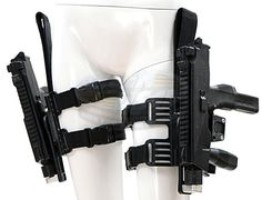 Resident Evil: Afterlife - Alice's MP9 Stunt Guns and Holsters (Milla Jovovich)
