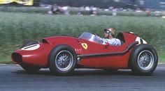 Peter Collins - 1958 Ferrari